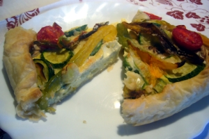 Quiche di verdure estive